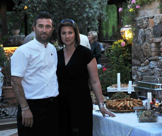 Izela Restaurant: Owners Tolga and Rebecca