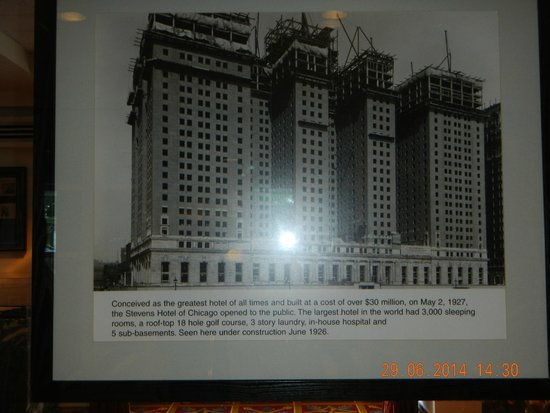 Hilton Chicago: Old Pic