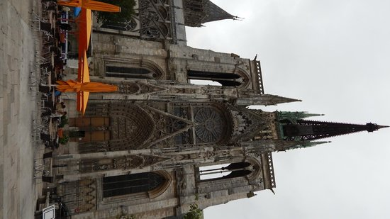 Cathédrale Notre-Dame de Rouen : facciata principale esterna