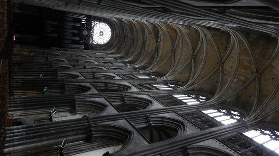 Cathédrale Notre-Dame de Rouen : Una navata laterale