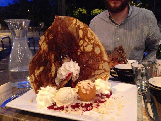 La Tour de Crêpes : Crêpe dessert