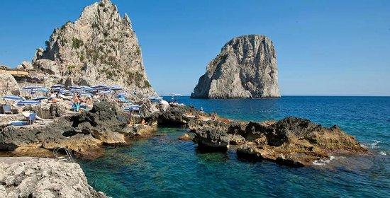 La Fontelina: Fontelina Beach Club Capri