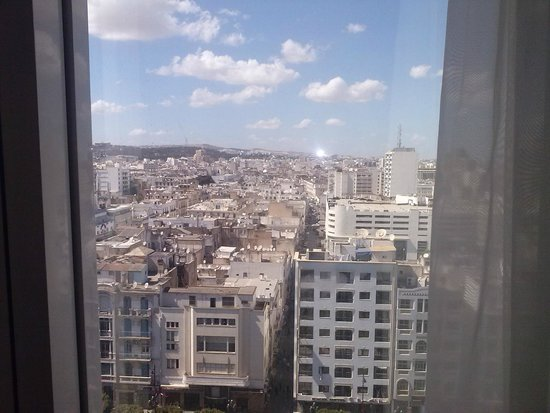 Africa Hotel : This is view from 11 th floor, over city centre
