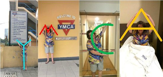 The YMCA of Kuala Lumpur Hostel: It's fun to stay at the YMCA!