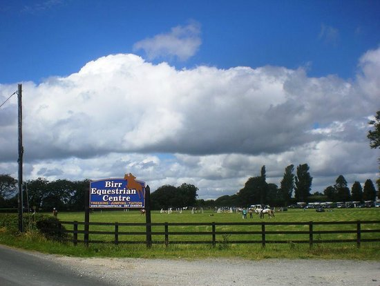 Birr Equestrian Centre: Entrance Sign