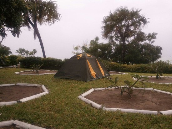 Changani Beach Cottages: Changani resort camping place