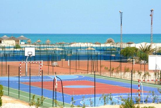 SunConnect Djerba Aqua Resort: terrain-volley-basket-hand