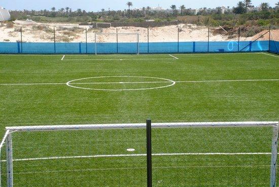 SunConnect Djerba Aqua Resort: terrain de football