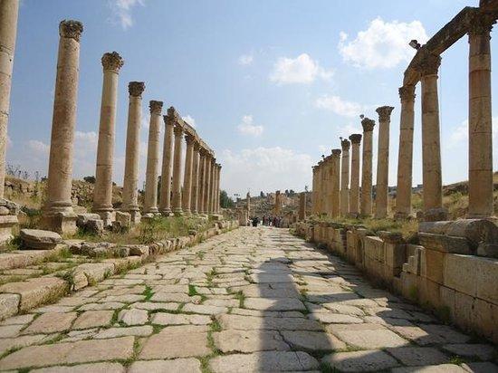 Ruines de Gérasa : Cardo Massimo