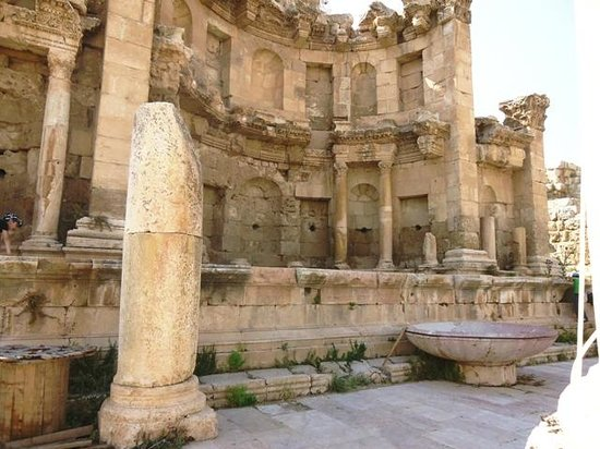 Ruines de Gérasa : Ninfeo