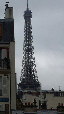 Hotel Jardins d'Eiffel: Camera vista torre eiffel