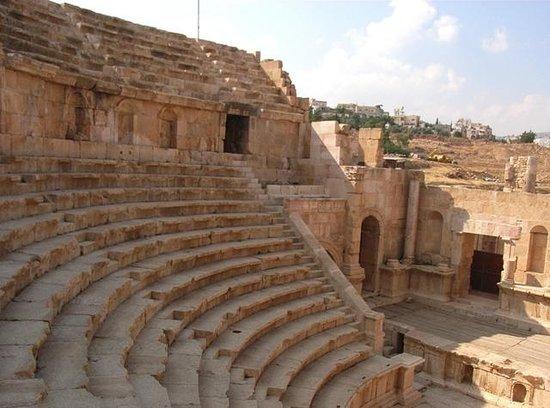 Ruines de Gérasa : Teatro Nord