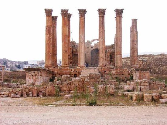 Ruinas de Jerash: Tempio di Artemide