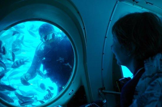 Mercure Hurghada Hotel : В подводной лодке