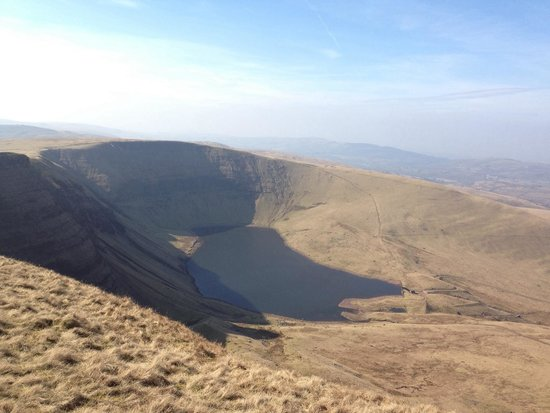 Brecon Beacons National Park, UK: Llyn y fan fach