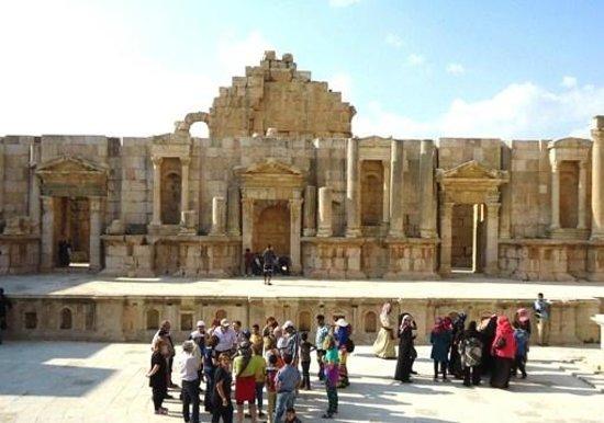 Ruinas de Jerash: Teatro Sud