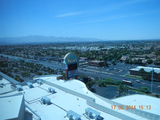 The Palms Casino Hotel: View