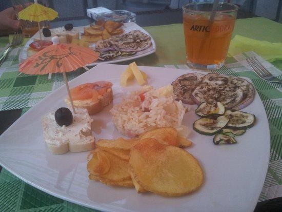 Pavona, Italië: aperitivo