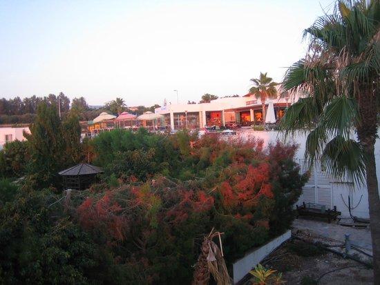 Theo Sunset Bay Holiday Village: Отель и местность