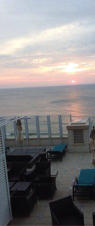 Oceanaire Resort Hotel : View from room balcony
