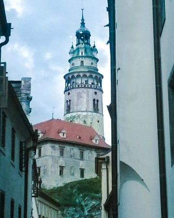 Historic Center of Cesky Krumlov: was Baron Munchausen the architect of this magnificent edifice?