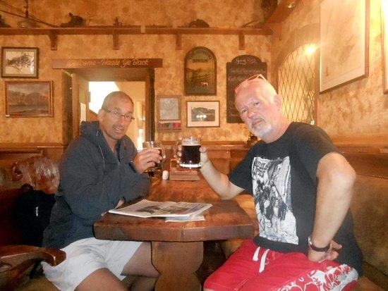 Glen Clova Hotel: Climbers' Bar.