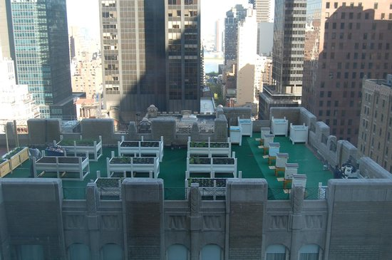 Waldorf Astoria New York: The beehives!