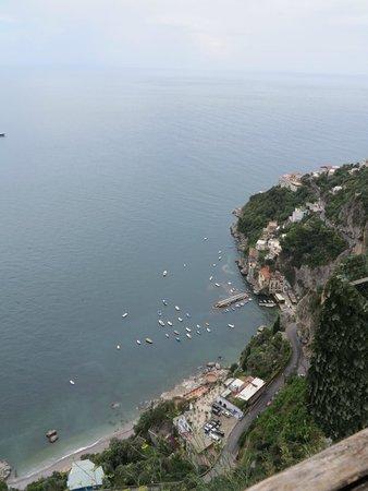 Monastero Santa Rosa Hotel & Spa : From the edge of the cliff