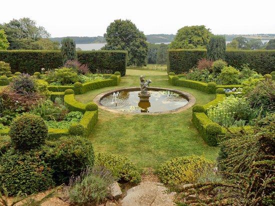 Hambleton Hall gardens