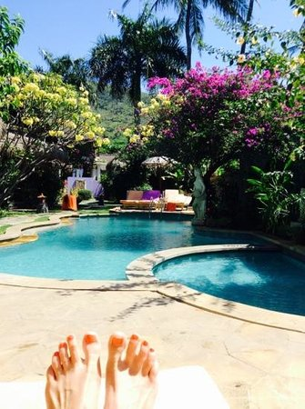 Life in Amed Boutique Hotel: vue de la piscine