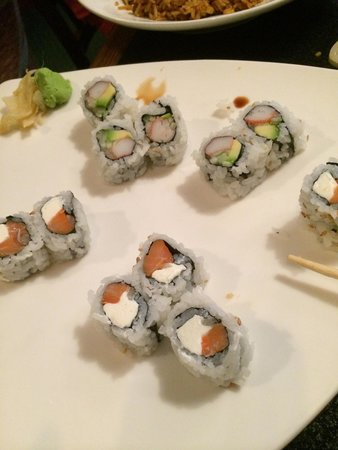 Sawa-Hibachi: California And Philadelphia Rolls Delicious!