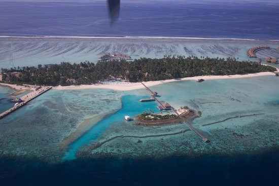 COMO Maalifushi, The Maldives : Aerial