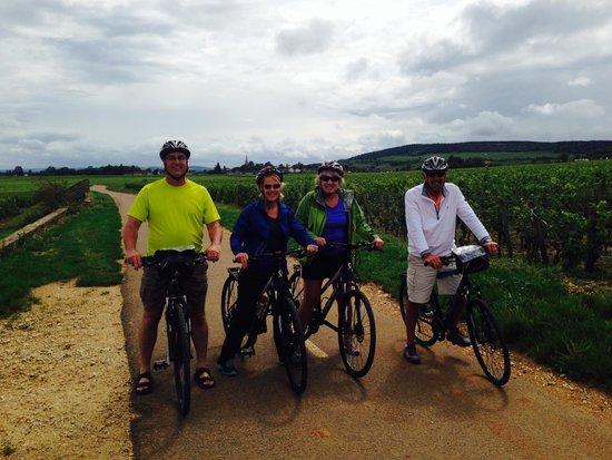 Bourgogne Evasion : Lovely ride through the vineyards
