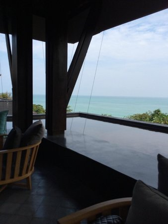 Vana Belle, A Luxury Collection Resort, Koh Samui : view from lobby