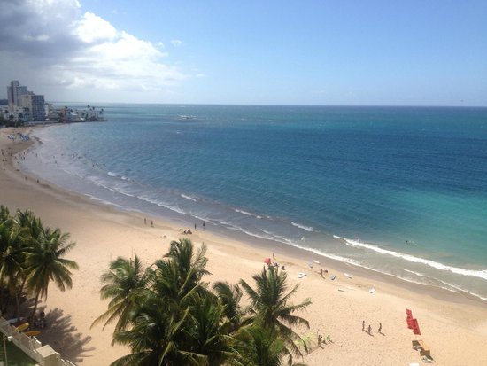 Courtyard by Marriott Isla Verde Beach Resort: View From Our Hotel Room - Actual View (not filtered) AMAZING!!