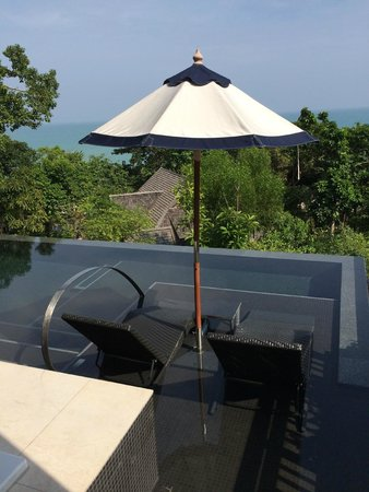 Vana Belle, A Luxury Collection Resort, Koh Samui: room infinity pool