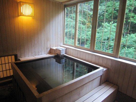 Jozankei Daiichi Hotel Suizantei: 客室露天風呂です