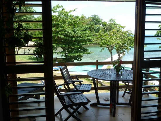 The Resort at Wilks Bay: View from 2nd Floor, 2 bedroom villa
