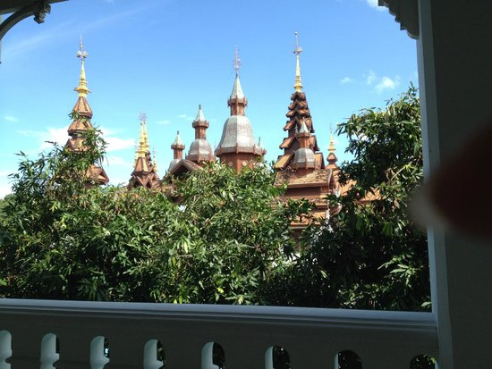 The Dhara Dhevi Chiang Mai: View from the balcony