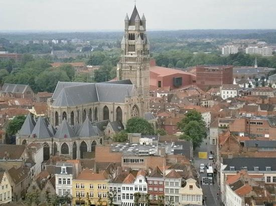 Beffroi et marché : View from Belfort!