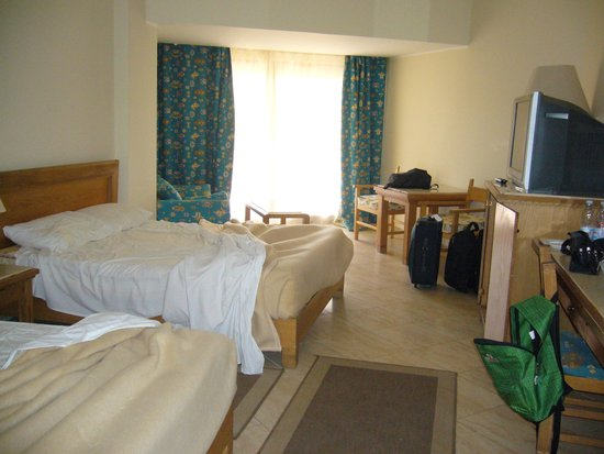 Fort Arabesque Resort, Spa & Villas : La nostra datata camera!