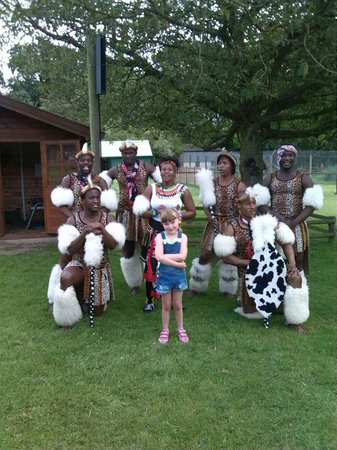 Africa Alive!: African tribe dancers