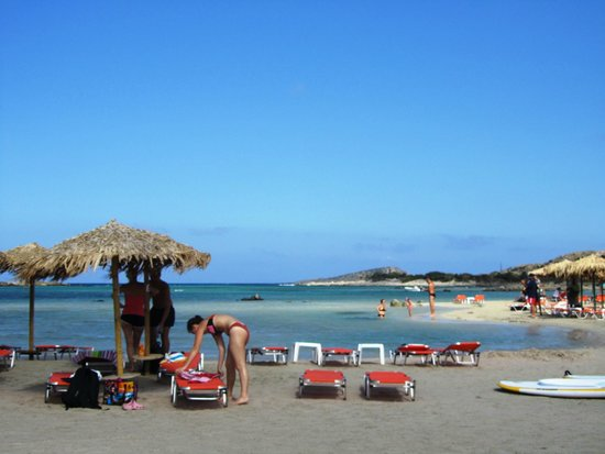 Playa de Elafonisi: Сказачное место
