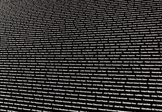 KZ-Gedenkstätte Mauthausen: Stanza dei Nomi