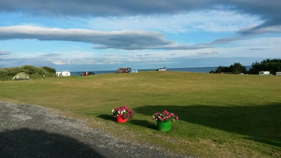 Wolohan's Silver Strand Caravan and Camping Park: Campers area