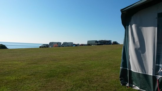 Wolohan's Silver Strand Caravan and Camping Park : Well spaced
