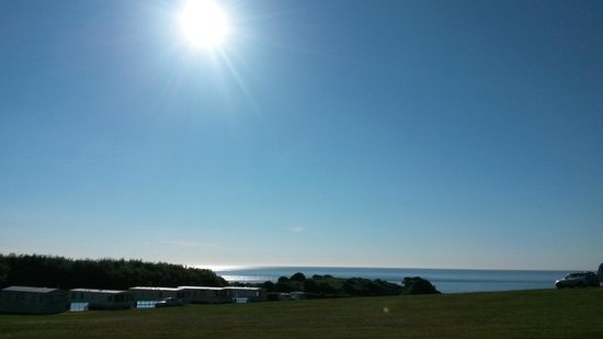 Wolohan's Silver Strand Caravan and Camping Park : Beautiful weather as usual