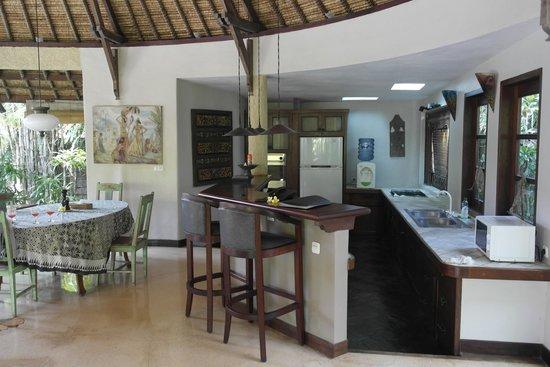 Taman Wana Ayurvedic Luxury Hotel and Villas in Seminyak : le salon