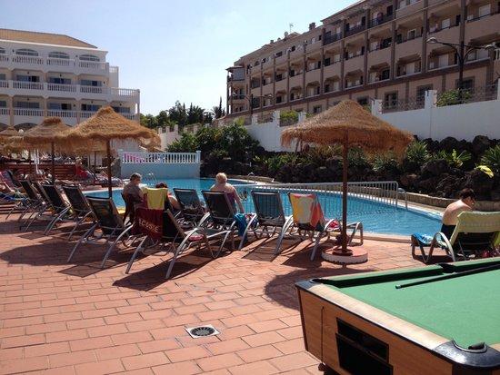 Marola Portosin: Pool Table and pool area