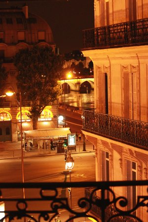 Hotel Albe Saint Michel: From our Balcony